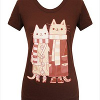 Hey Chickadee - Cat Lovers T-shirt