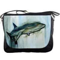 Shark Messenger Bag, Back to school - Kingpin