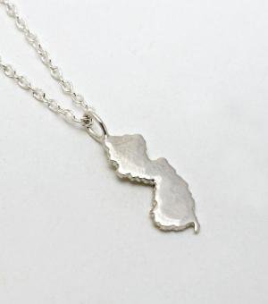 NJ Necklace - silver