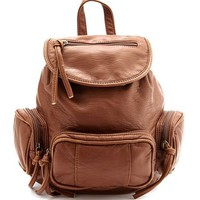 Mini Multi Pocket Backpack: Charlotte Russe