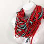 Infinity Scarf Chunky Fabric Necklace