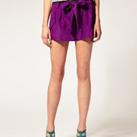 ASOS | ASOS PETITe Obi Shorts at ASOS