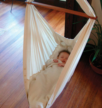 Natures Sway Organic Baby Hammock - Nursery Furniture - Nature Baby