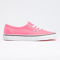 Neon Authentic Vans