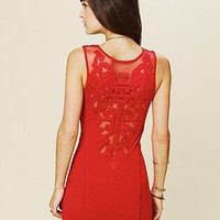 Free People Cut Out Bodycon