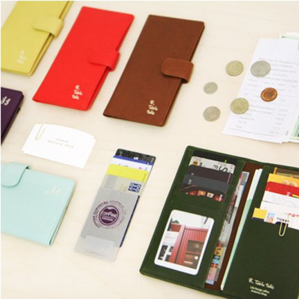 Table Talk Slim Wallet