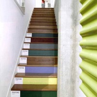 Pantone Stairs at Tamotsu Yagi Design