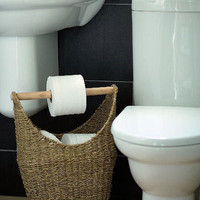 5 DIY Toilet Paper Storage Solutions | Shelterness
