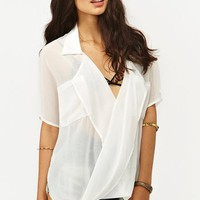 Chiffon Twist Blouse