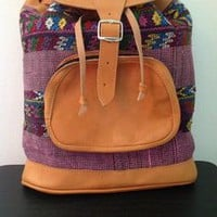 Tuanis — Purple Tuanis Day Bag