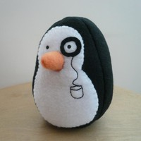 Penguin Plush Stuffed Animal Fleece.. on Luulla