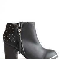 Rebel With A Cause Studded Boots - $76.00 : ThreadSence.com, Free-spirited fashion for the indie-inspired lifestyle