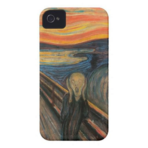 The Scream Barely There iPhone 4 Iphone 4 Cover from Zazzle.com