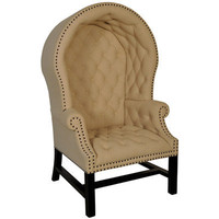 Porters Dome Chair Antique Black