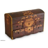 Cedar chest of drawers, 'Colonial'