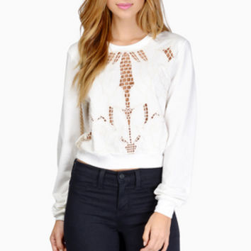 Junos Crop Sweater $36