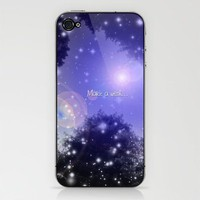 Make a wish... iPhone & iPod Skin by Lisa Argyropoulos | Society6