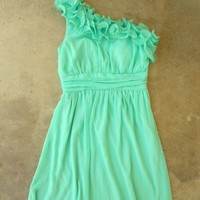 Sweet Mint Julep Dress [2295] - $42.00 : Vintage Inspired Clothing & Affordable Summer Dresses, deloom | Modern. Vintage. Crafted.
