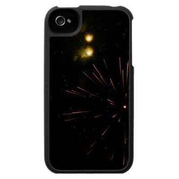 Cosmic Celestial Fireworks iphone Case from Zazzle.com