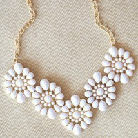 floral magic necklace at ShopRuche.com