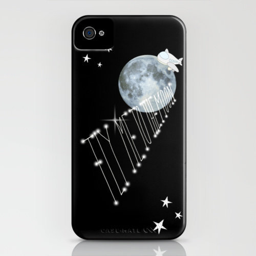 FLY ME TO THE MOoON iPhone Case by M✿nika  Strigel	 | Society6