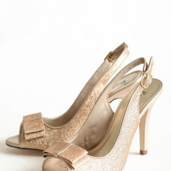 just right glitter heels at ShopRuche.com