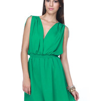Naiad Lore Green Dress