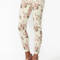 Desert Rose Skinny Jeans - Blush