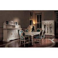 San Marco Exclusive Dining Set Collection in White: Amazon.com: Home & Kitchen