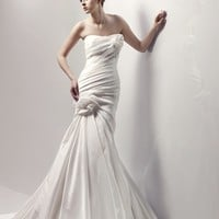 Wholesale Mermaid Strapless Floor Length Gown with Taffeta CAYENNE for $193.00 from China : IndeedBuyer.com.  - IndeedBuy