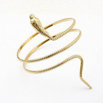 Cobra Fashion Statement Cuff | LilyFair Jewelry