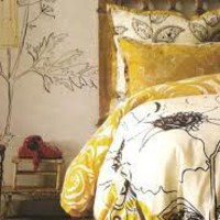 Anthropologie's Sketchbook Bedding