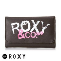 Roxy My Little Eye Plain Wallet - Black