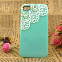 unique pearl lace iPhone 4 cases, custom iPhone case, designer iPhone 4 cases iPhone case cover, ice cream iPhone case