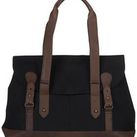 Waxed Canvas And Snake Tote - Accessories - New In This Week  - New In
