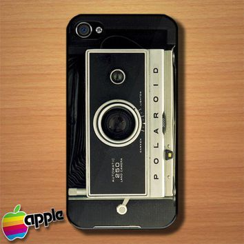 Vintage Polaroid 250 Land Camera Custom iPhone 4 or 4S Case Cover