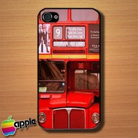 First London Routemaster Red Bus Heritage Route Custom iPhone 4 or 4S