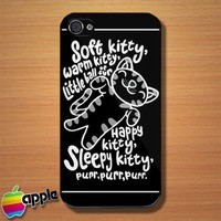 The Big Bang Theory Soft Kitty Warm Kitty iPhone 4 or 4S Case
