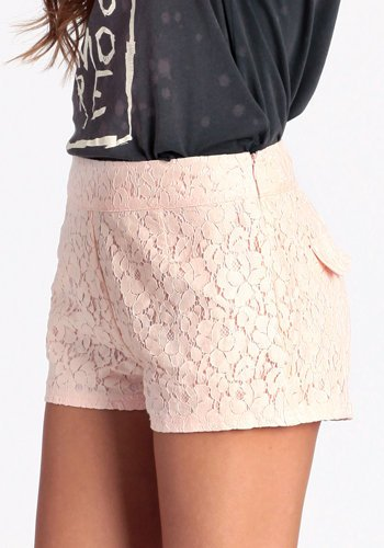 Love And Lace Shorts - $39.00: ThreadSence, Women&#x27;s Indie &amp; Bohemian Clothing, Dresses, &amp; Accessories