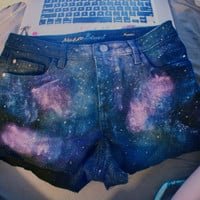 Custom Galaxy Shorts