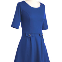 You Guest It Dress in Blue | Mod Retro Vintage Dresses | ModCloth.com