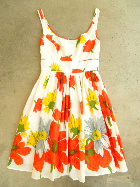 Summer Poppy Dress in Blanche [2687] - $47.00 : Vintage Inspired Clothing & Affordable Summer Dresses, deloom | Modern. Vintage. Crafted.