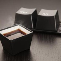 ThinkGeek :: Ctrl-Alt-Delete Cup Set