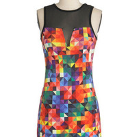 Its a Colorful Life Dress | Mod Retro Vintage Dresses | ModCloth.com