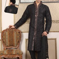 Kurta Pajama With Admired Embroidery