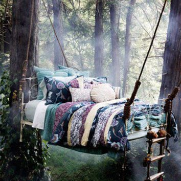 Favorite Places and Spaces / Now that's a hammock!