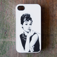 Audrey Hepburn iPhone 4 Case New iPhone 4 &amp; iPhone 4s Film Hollywood