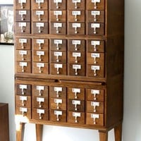 The Card Catalog File | Small Notebook