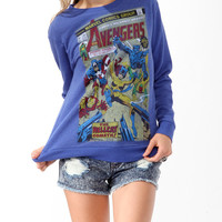 The Avengers Terry Pullover