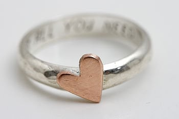 Portscatho Personalised Ring